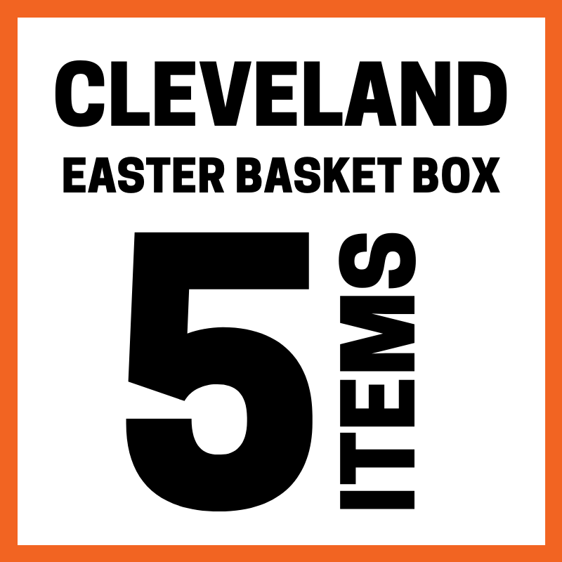 Cleveland Easter Basket Box 5 Items0