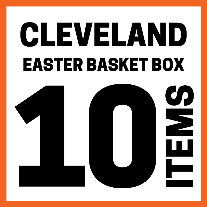 Cleveland Easter Basket Box 10 Items