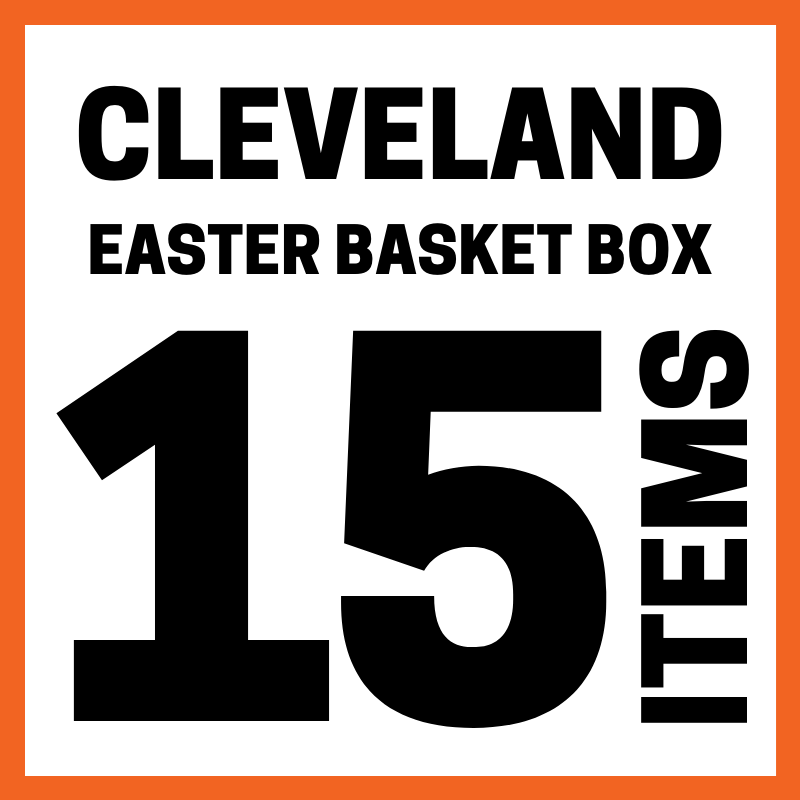 Cleveland Easter Basket Box 15 Items