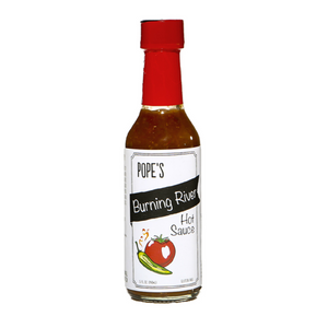 Pope's Kitchen Burning River Hot Sauce
