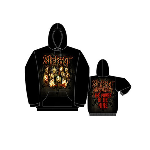 Slipknot Won't Die Group - Mens Black Pullover Hoodie