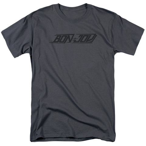 Bon Jovi - New Logo Short Sleeve Adult 18/1