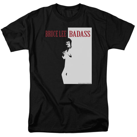 Bruce Lee - Badass Short Sleeve Adult 18/1