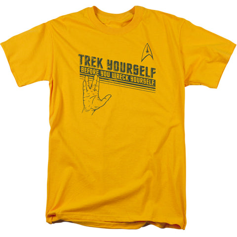 Star Trek - Trek Yourself Short Sleeve Adult 18/1