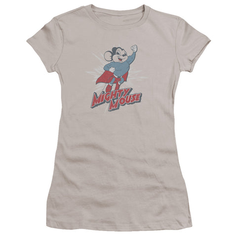 Mighty Mouse - Mighty Blast Off Premium Bella Junior Sheer Jersey