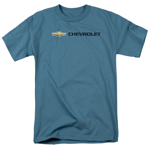 Chevrolet - Chevy Bowtie Wide Front Short Sleeve Adult 18/1