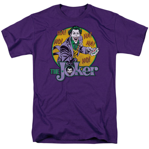 DC: The Joker - Short Sleeve Adult 18/1