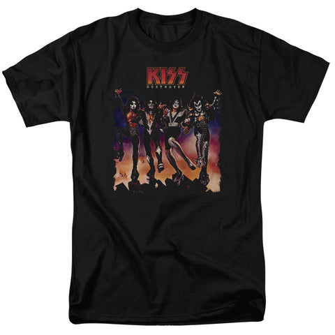 Kiss - Destroyer Cover Short Sleeve Adult 18/1