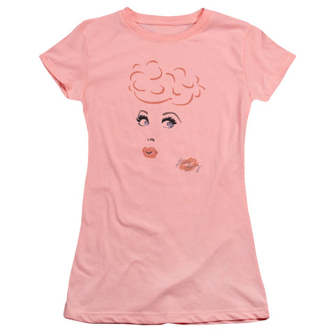 I Love Lucy - Eyelashes Premium Bella Junior Sheer Jersey