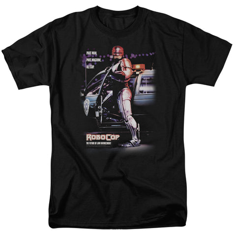 Robocop - Poster Short Sleeve Adult 18/1