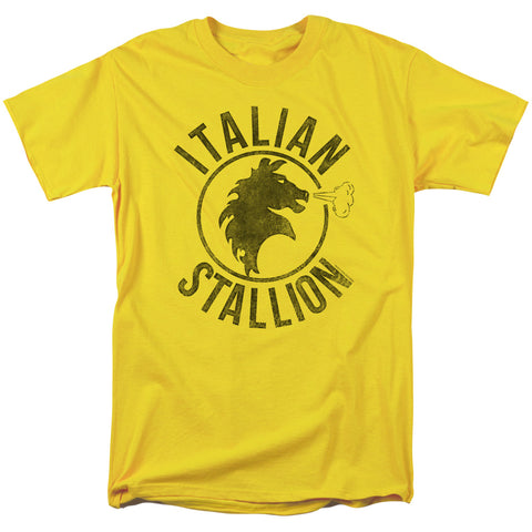 Rocky - Italian Stallion Horse Short Sleeve Adult 18/1