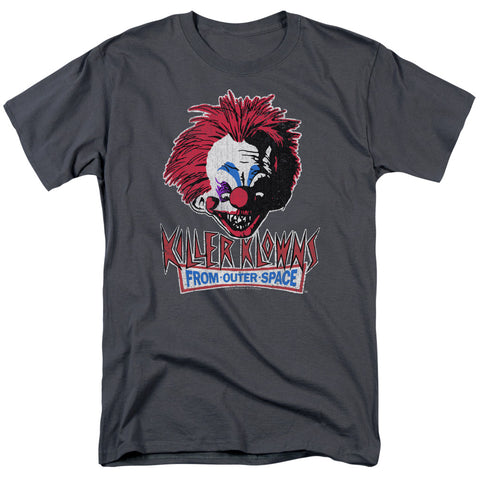 Killer Klowns From Outer Space - Rough Clown Short Sleeve Adult 18/1