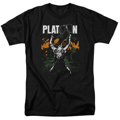 Platoon - Graphic Short Sleeve Adult 18/1