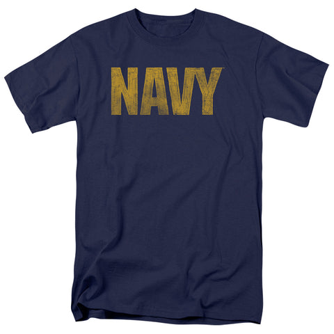 Navy - Logo Short Sleeve Adult 18/1