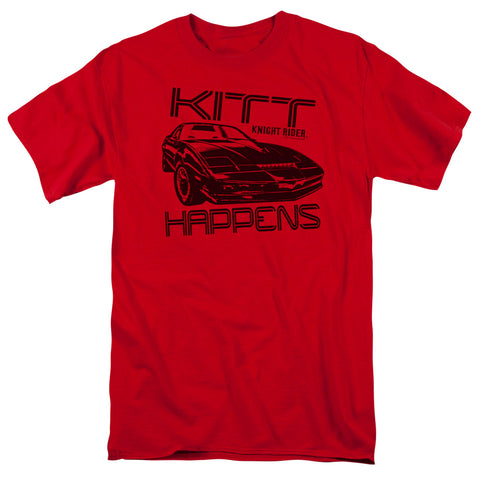 Knight Rider - Kitt Happens Short Sleeve Adult 18/1