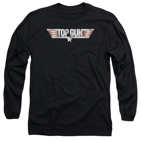 Top Gun - Logo Long Sleeve Adult 18/1