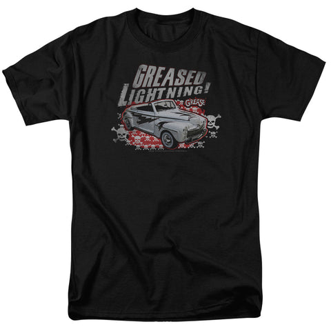 Grease - Greased Lightening Short Sleeve Adult 18/1