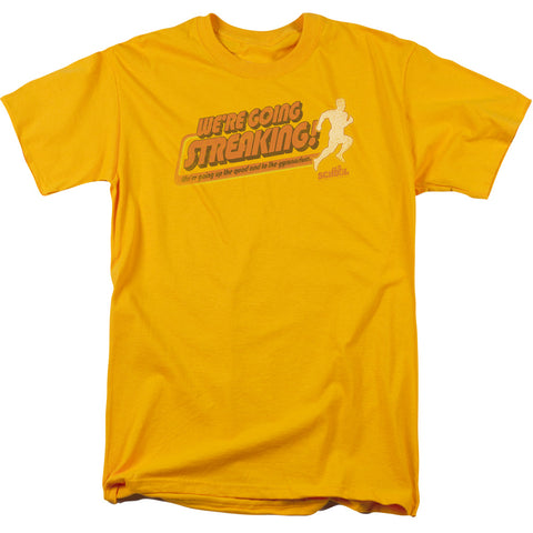 Old School - Streaking Short Sleeve Adult 18/1