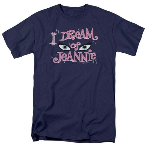 I Dream Of Jeannie - Eyes Short Sleeve Adult 18/1