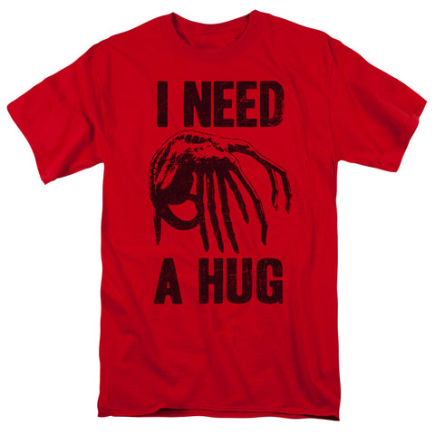 Alien - Need A Hug Short Sleeve Adult 18/1