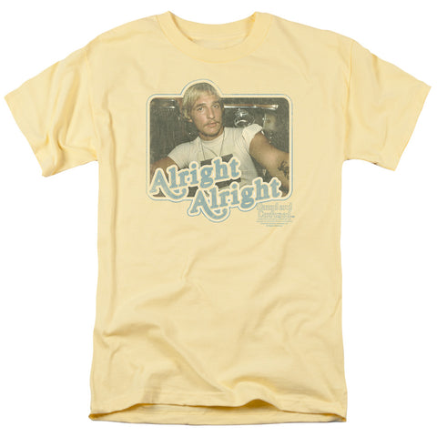 Dazed And Confused - Alright Alright Short Sleeve Adult 18/1