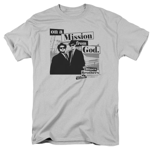 Blues Brothers - Mission Short Sleeve Adult 18/1