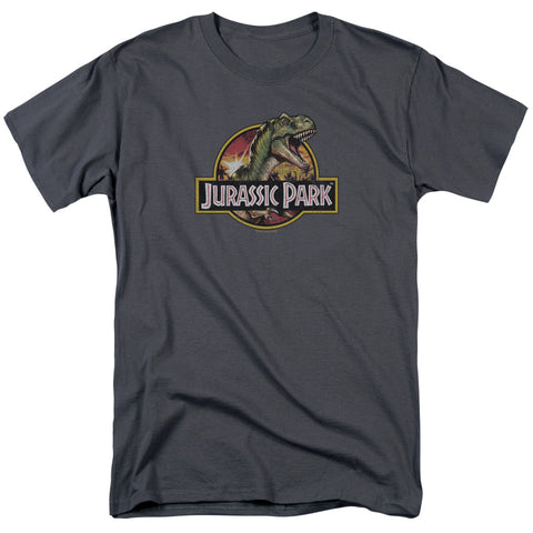 Jurassic Park - Retro Rex Short Sleeve Adult 18/1