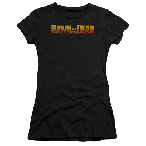 Dawn Of The Dead - Dawn Logo Premium Bella Junior Sheer Jersey
