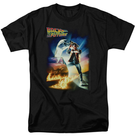 Back To The Future - Poster Short Sleeve Adult 18/1