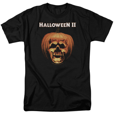Halloween II - Pumpkin Skull Short Sleeve Adult 18/1