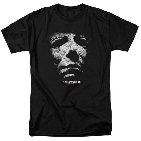 Halloween II - Myers Mask Short Sleeve Adult 18/1