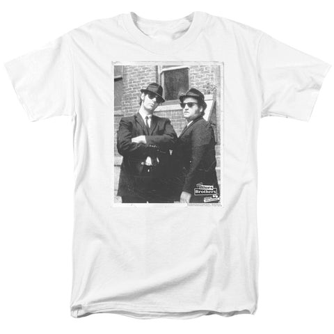 Blues Brothers - Brick Wall Short Sleeve Adult 18/1