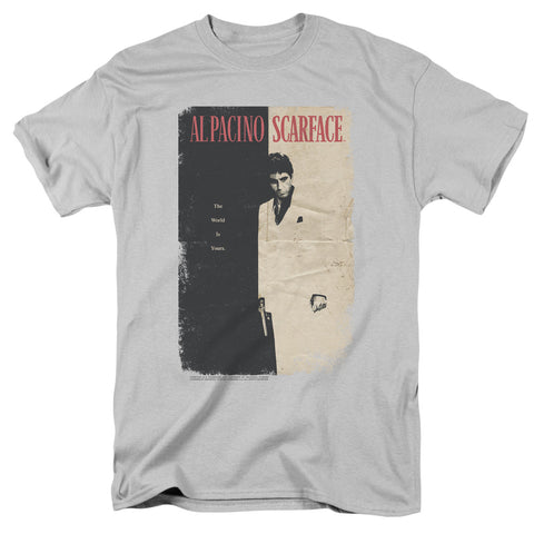 Scarface - Vintage Poster Short Sleeve Adult 18/1