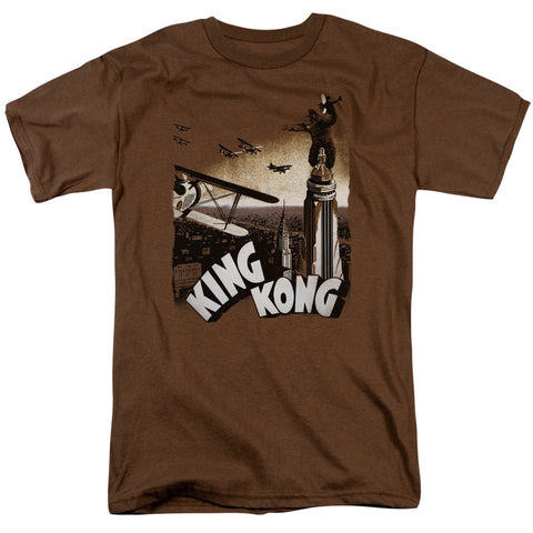 King Kong - Final Battle Short Sleeve Adult 18/1