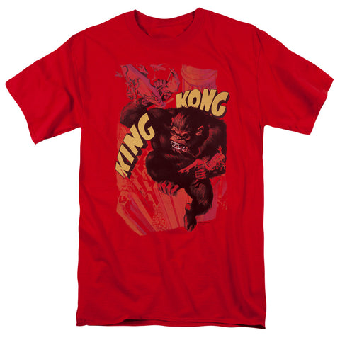 King Kong - Plane Grab Short Sleeve Adult 18/1