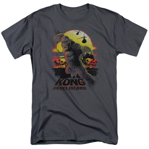 Kong Skull Island - Kong Sunset Short Sleeve Adult 18/1