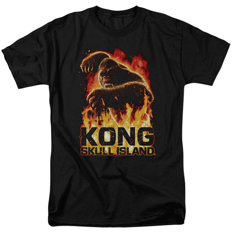 Kong Skull Island - Out Of The Fire Short Sleeve Adult 18/1