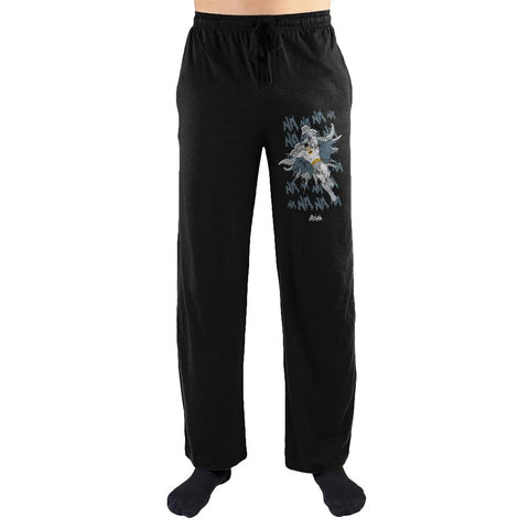 DC: Batman Adam West Mens Sleepwear Lounge Sleep Pants Gift