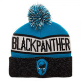 Marvel: Black Panther Reflective Cuff Beanie