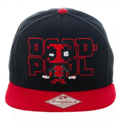 Marvel: Deadpool - Pixel Logo Snapback