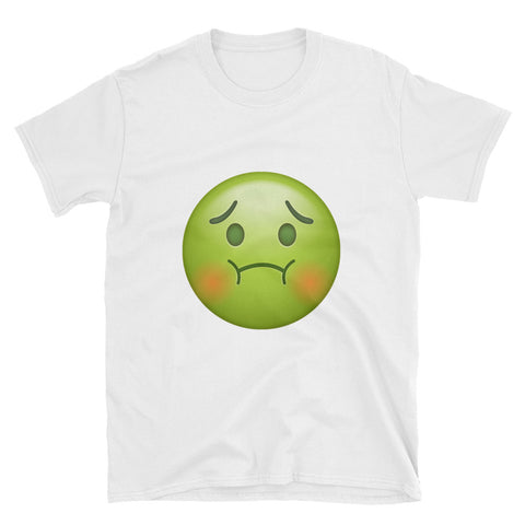 """Sick Emoji"" Short-Sleeve Unisex T-Shirt"
