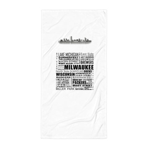MKE Beach Towel