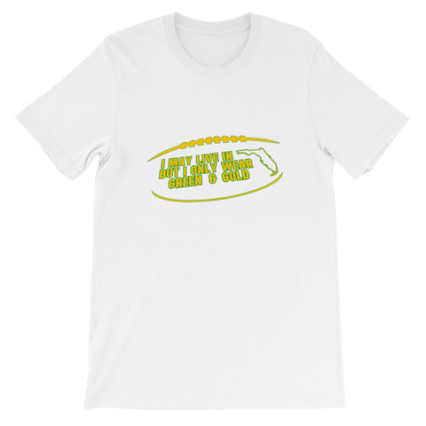 """I May Live In Florida..."" Short-Sleeve Unisex T-Shirt"
