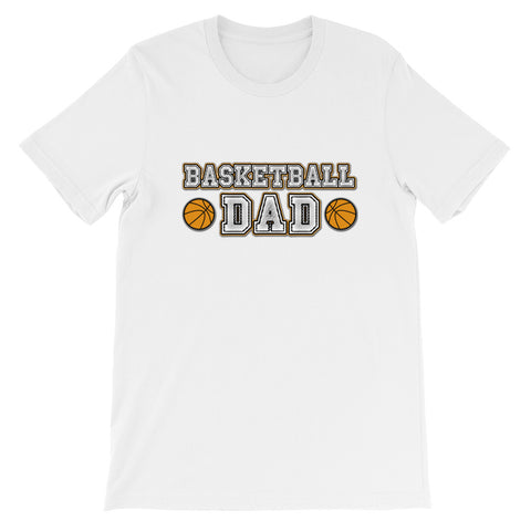 """Basketball Dad"" Short-Sleeve Unisex T-Shirt"