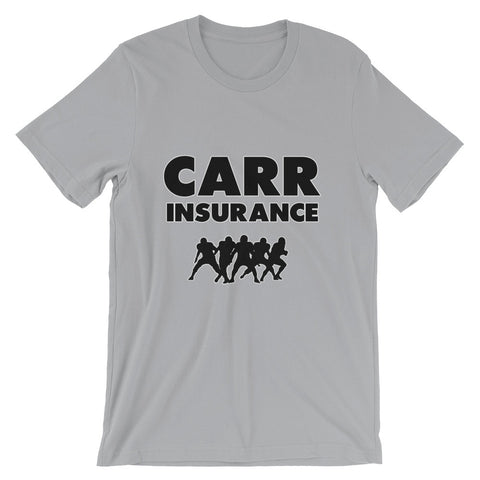 """Carr Insurance"" Unisex short sleeve t-shirt"