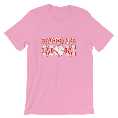 """Baseball Mom"" Short-Sleeve Unisex T-Shirt"