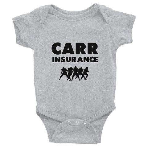 """Carr Insurance"" Infant Bodysuit"