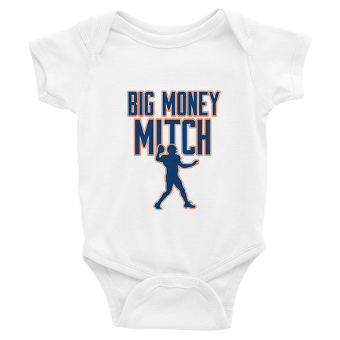 """Big Money Mitch"" Infant Bodysuit"