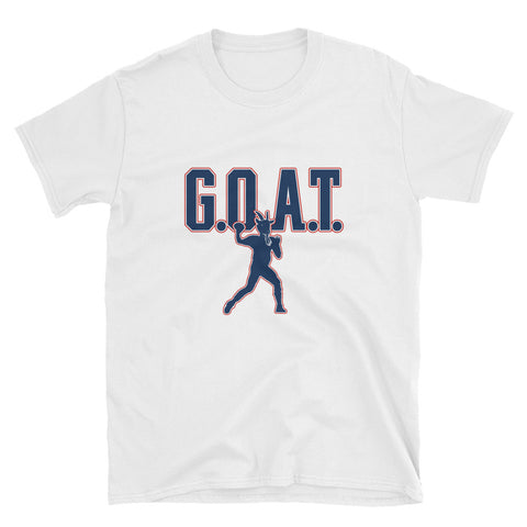 """G.O.A.T."" Short-Sleeve Unisex T-Shirt"