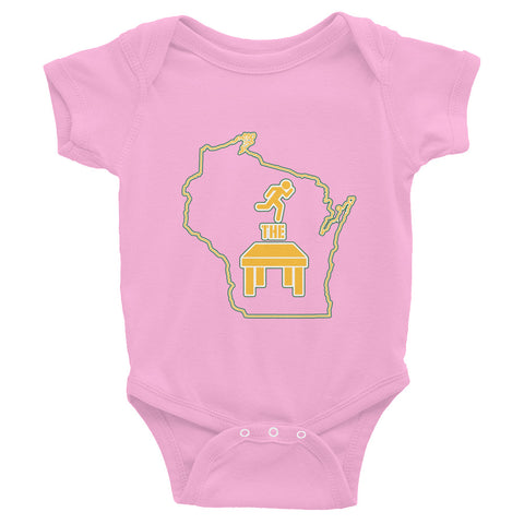 """Run The Table"" Infant Bodysuit"